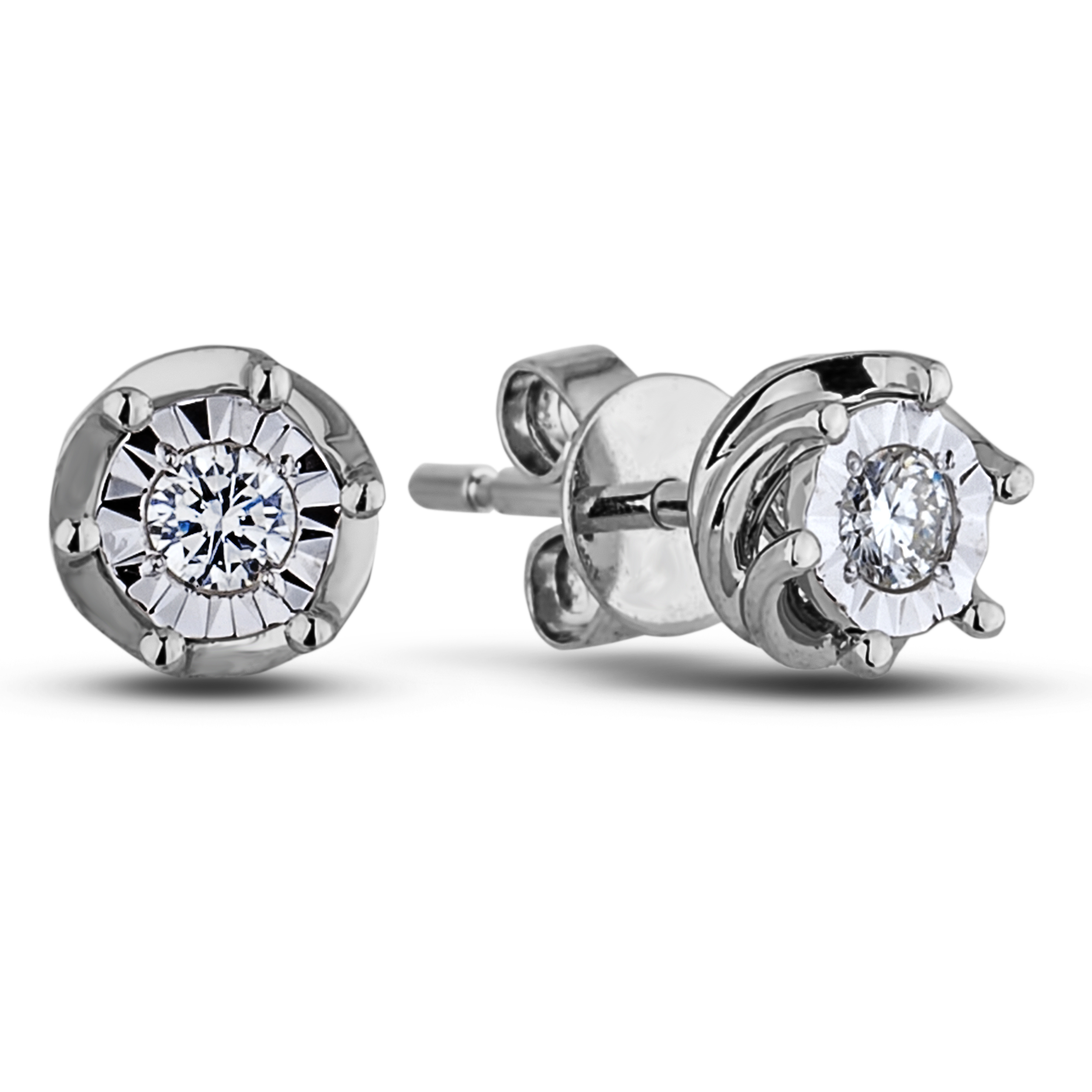 Diamond Stud Earrings JSL-AFCE0027 (Earrings)