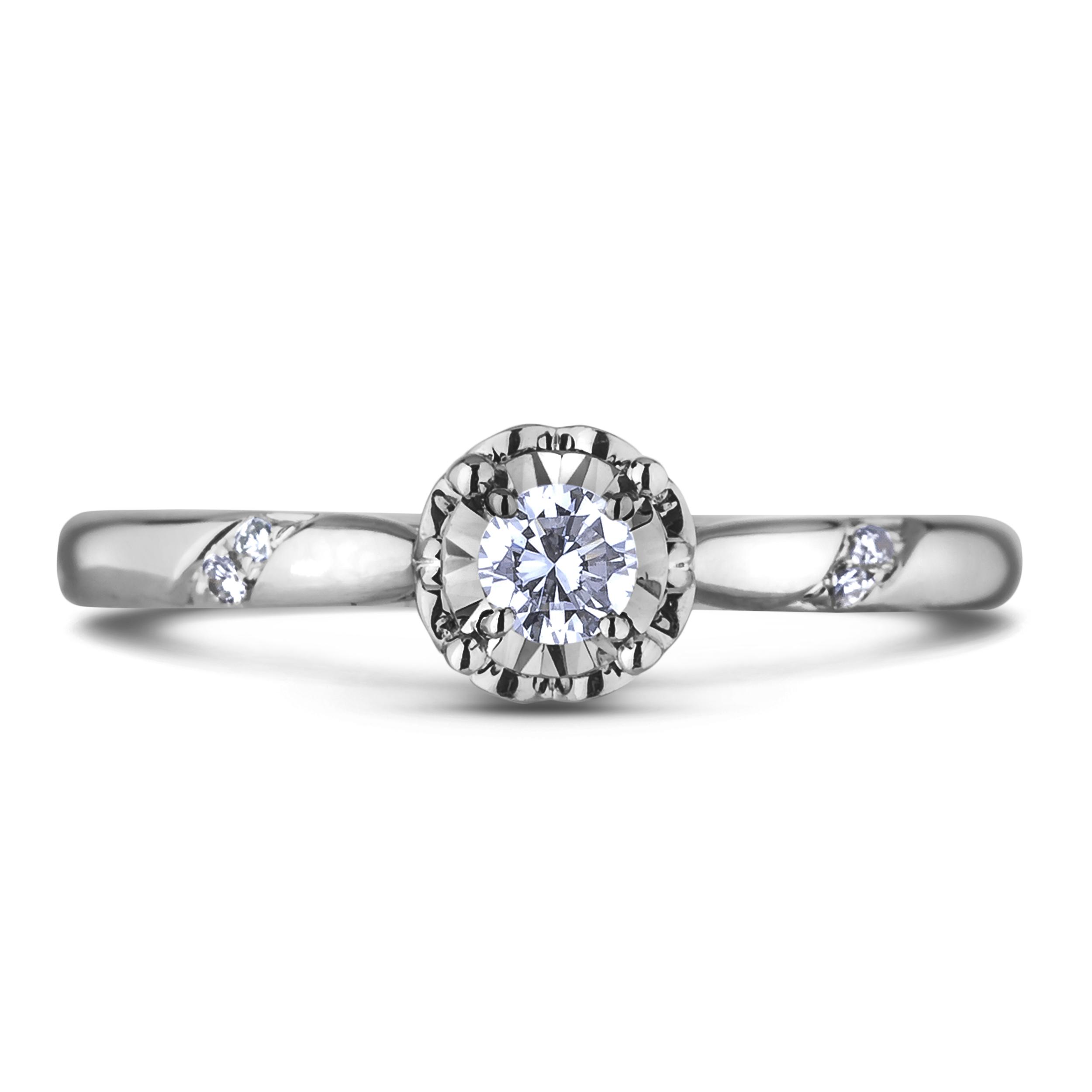 Diamond Engagement Rings JSL-AFCR0992010 (Rings)