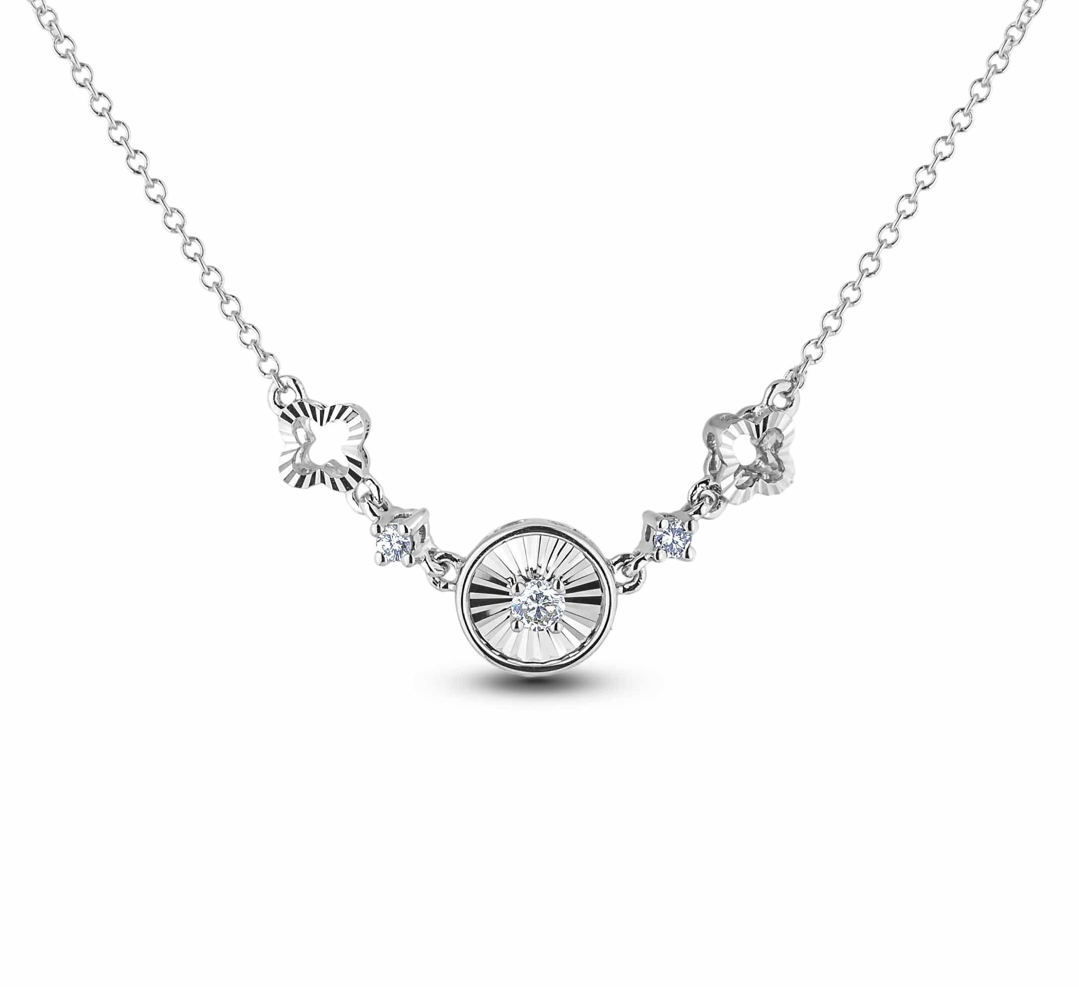 Diamond Necklaces JSN-AFCN0773 (Pendants)