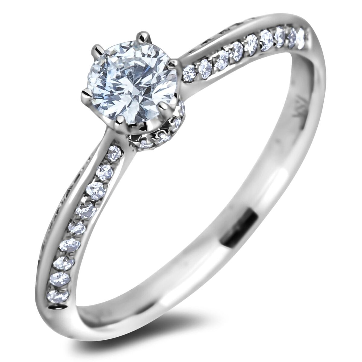 Diamond Engagement Rings AFR1125035 (Rings)
