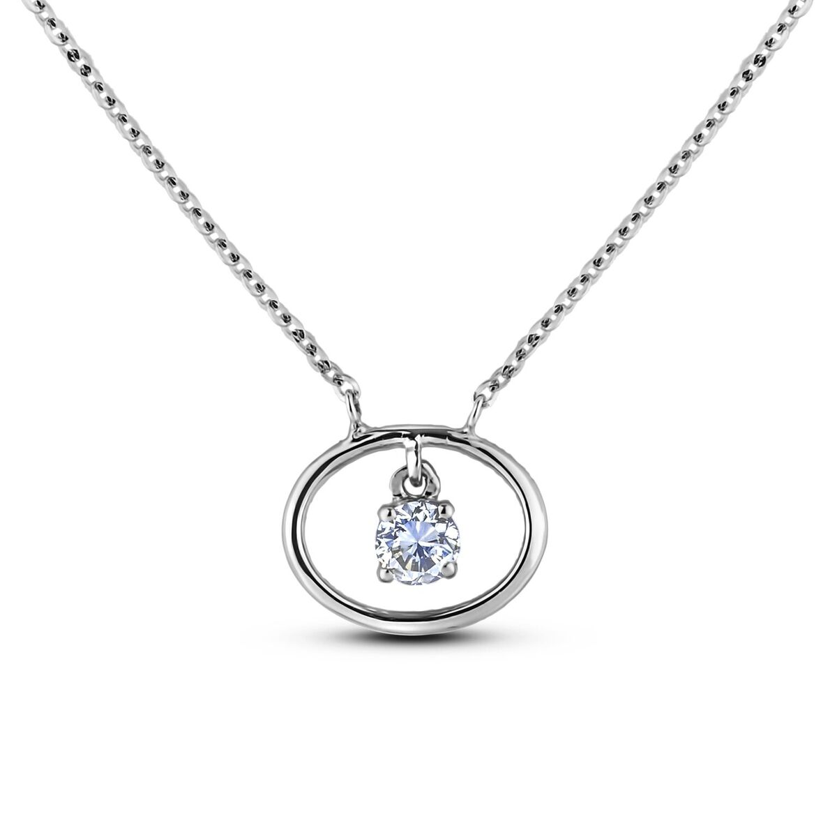 Diamond Solitaire Pendants SJL-MX-ND2680 (Pendants)