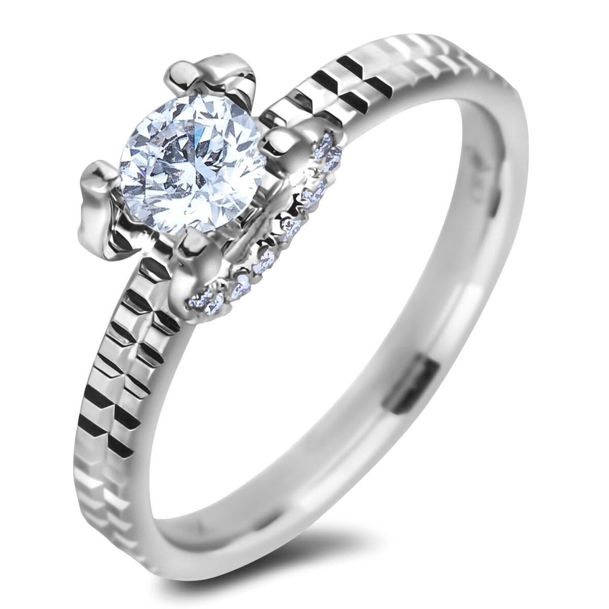 Diamond Engagement Rings AFCR0267050 (Rings)