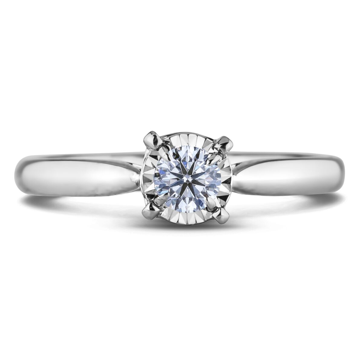 Diamond Solitaire Rings FCR2129025 (Rings)