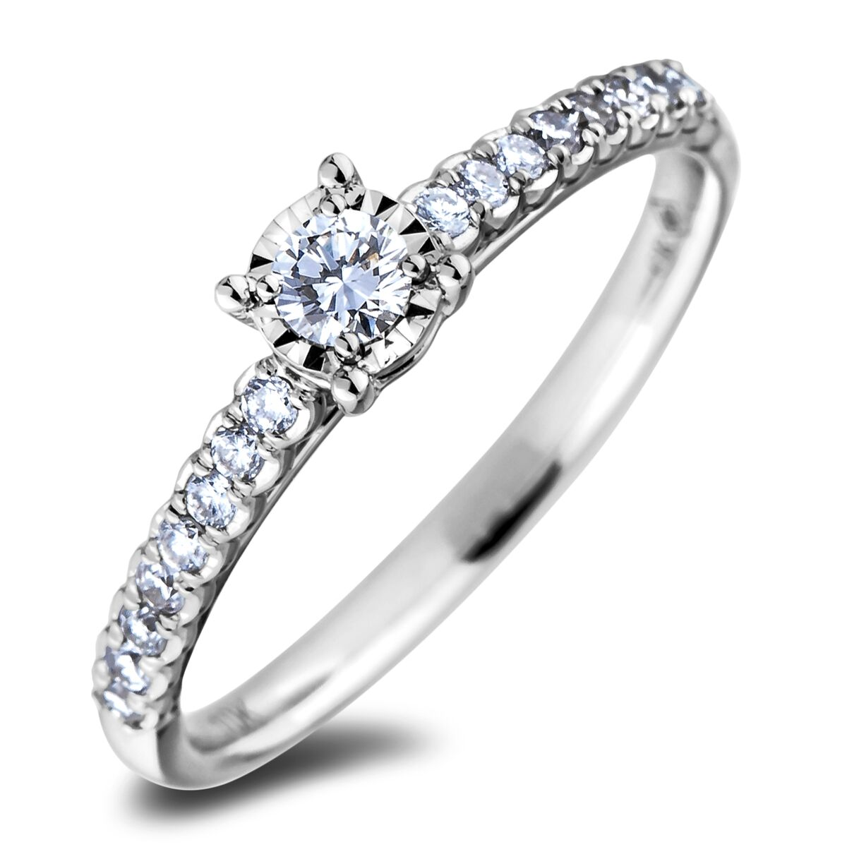 Diamond Engagement Rings AFCR1726010 (Rings)