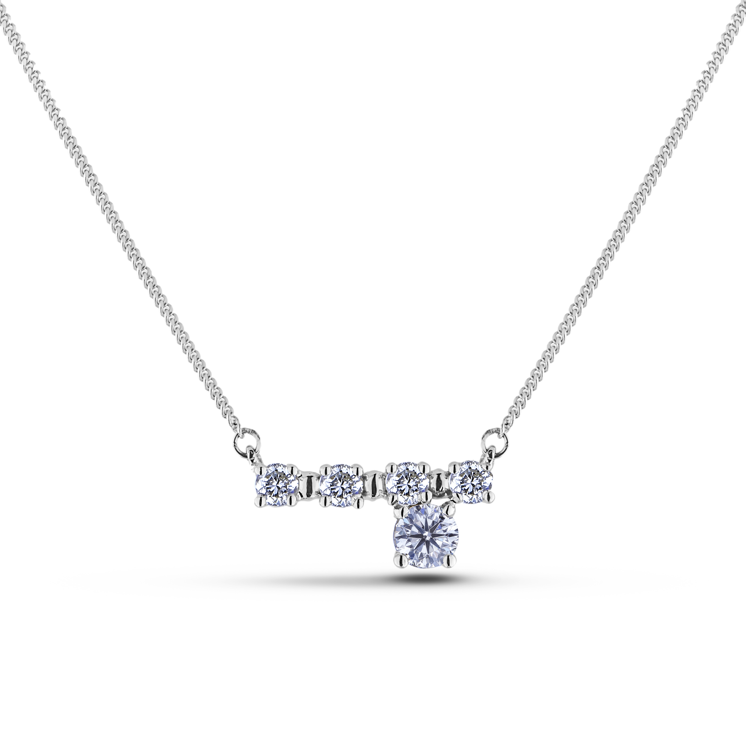 Diamond Necklaces SEC-MXND2675 (Pendants)