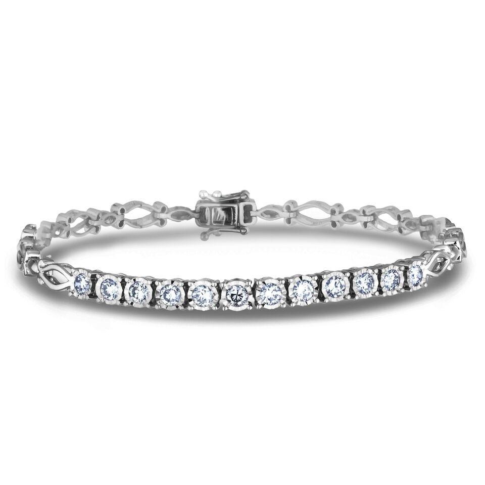 Diamond Tennis Bracelets AFCB0317 (Bracelets)