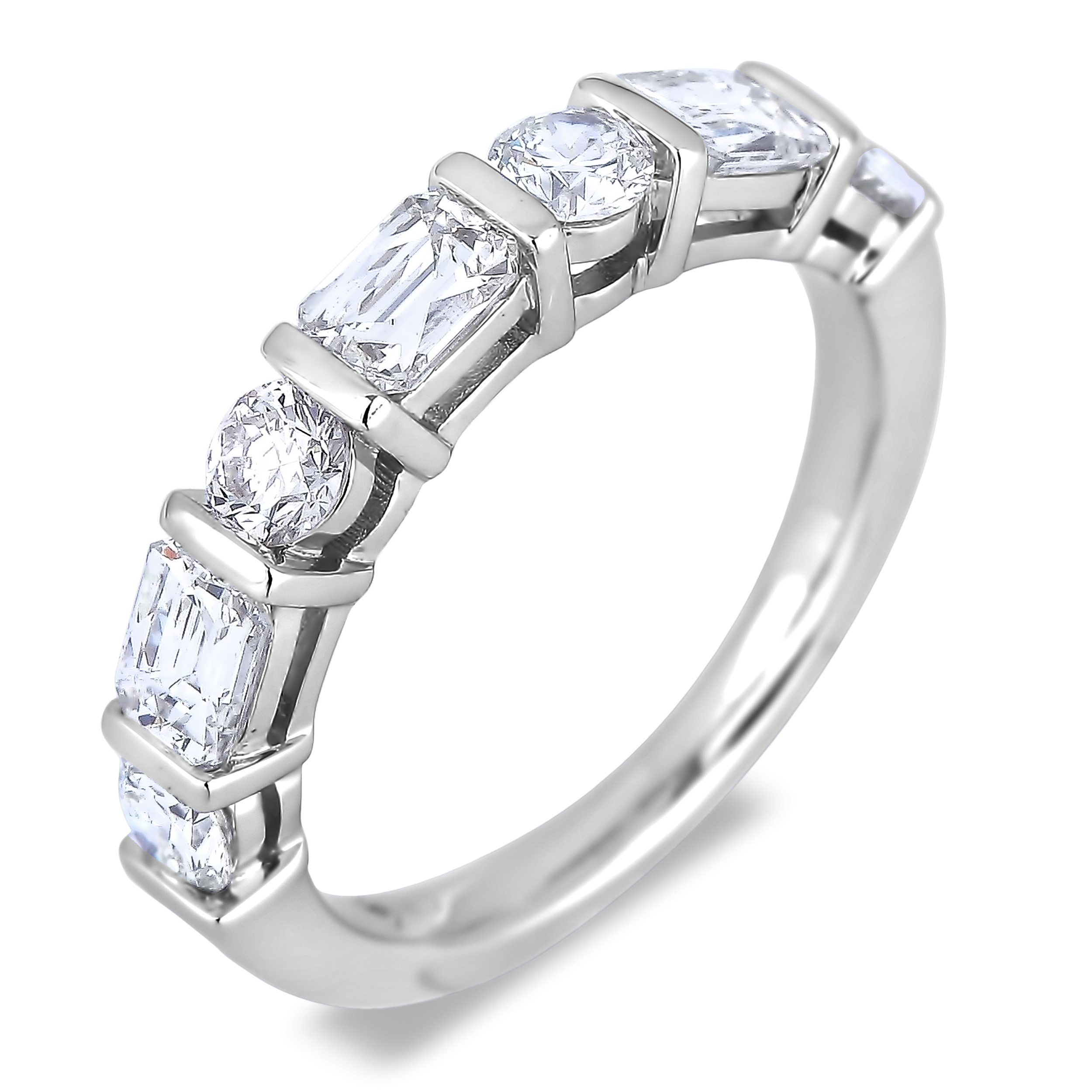 Diamond Anniversary Rings SGR1016 (Rings)