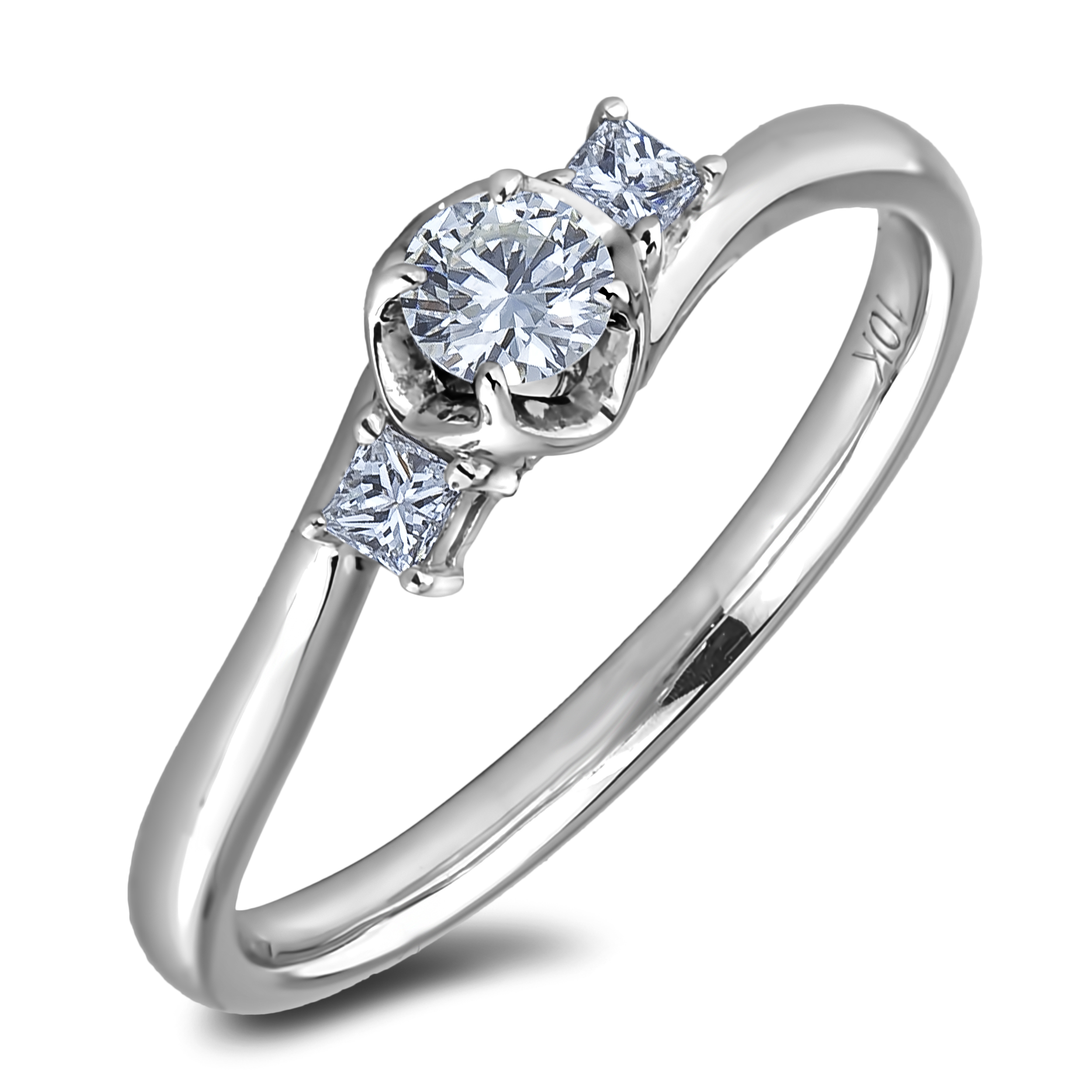 Diamond Three Stone Rings AFR2624020 (Rings)