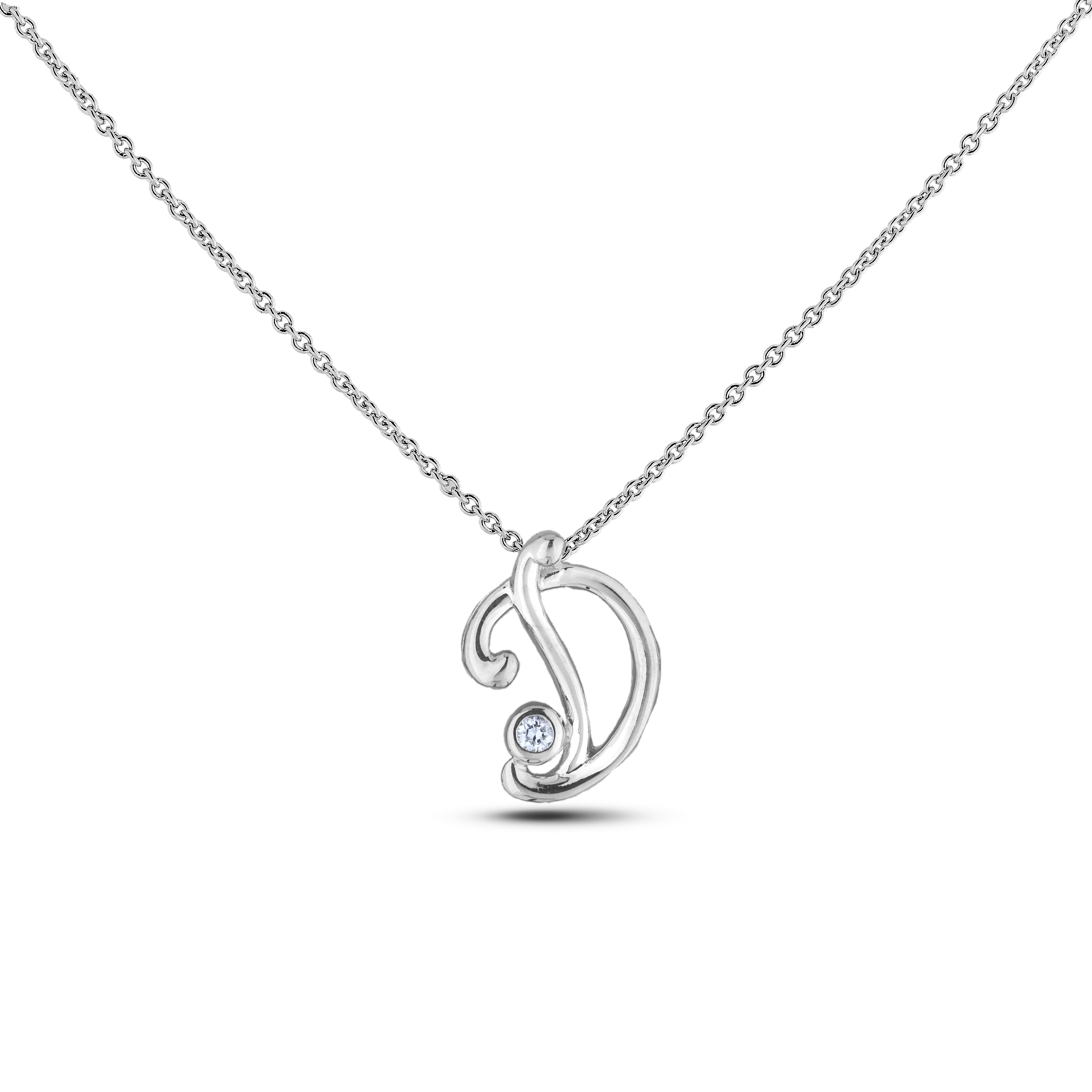 Diamond Alphabet & Zodiac SGP393-D (Pendants)