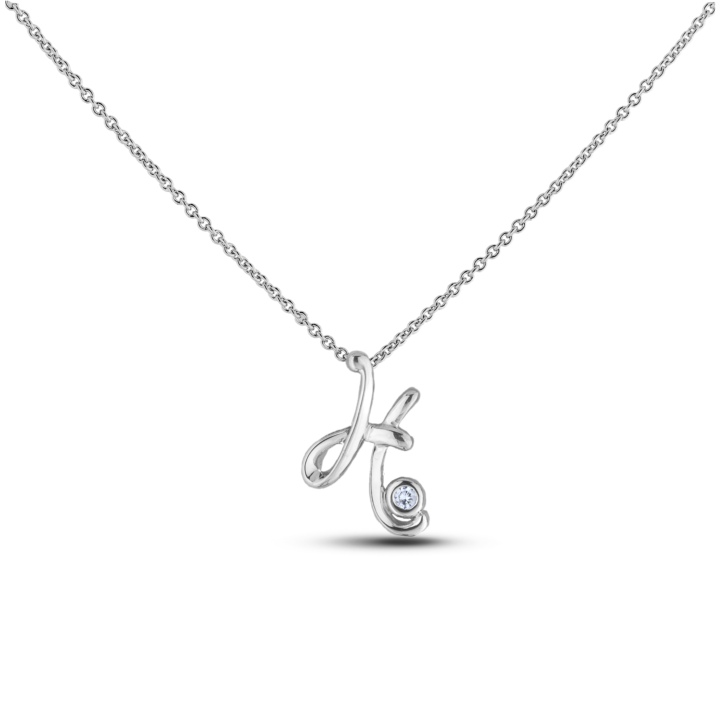 Diamond Alphabet & Zodiac SGP393-H (Pendants)