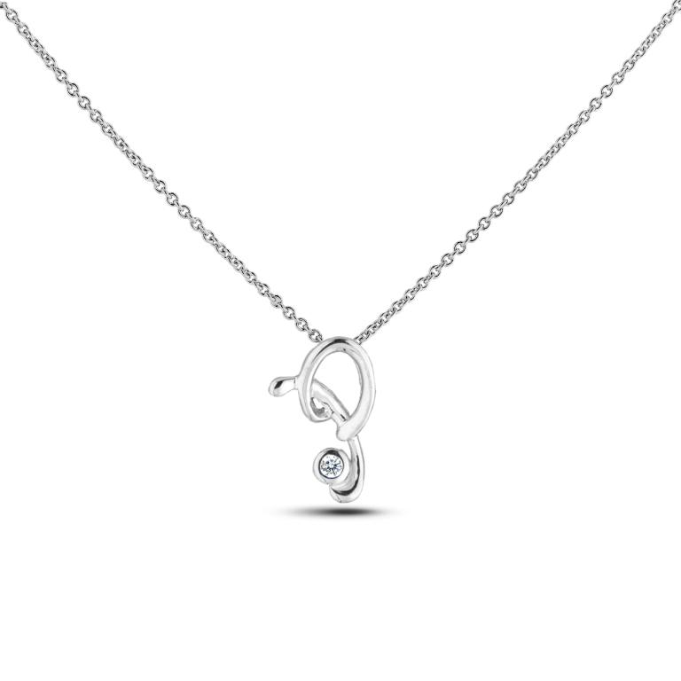 Diamond Alphabet & Zodiac SGP393-P (Pendants)