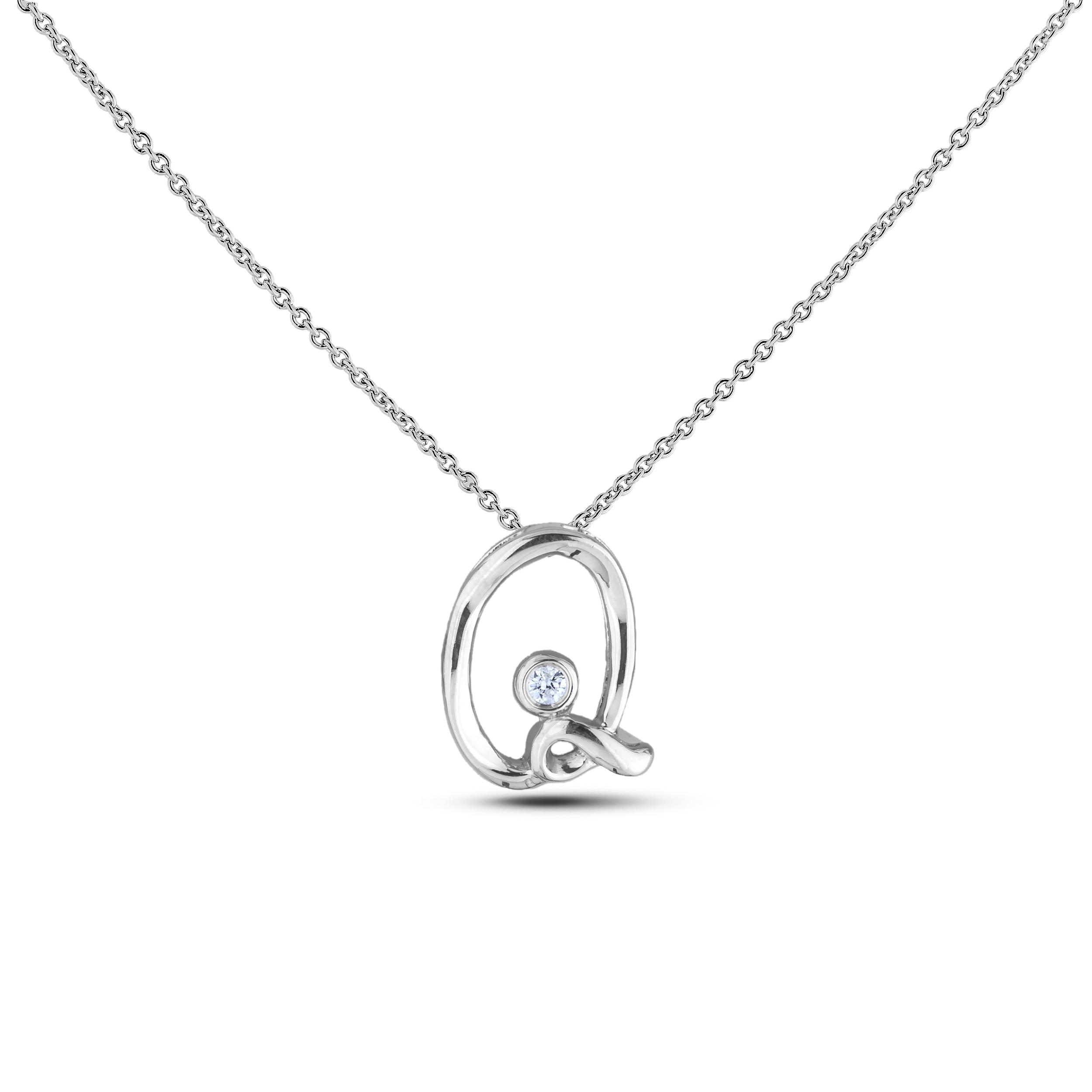Diamond Alphabet & Zodiac SGP393-Q (Pendants)