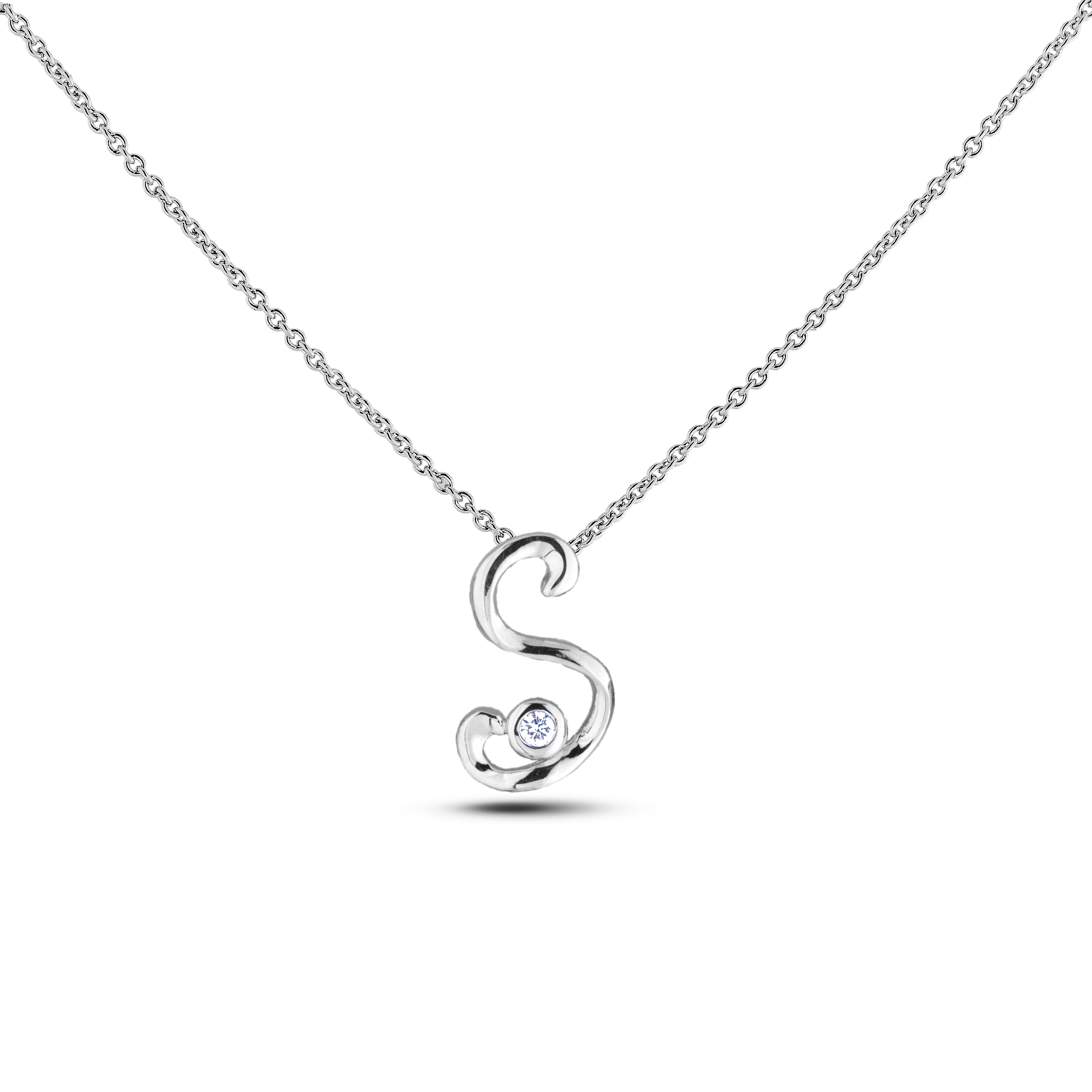 Diamond Alphabet & Zodiac SGP393-S (Pendants)