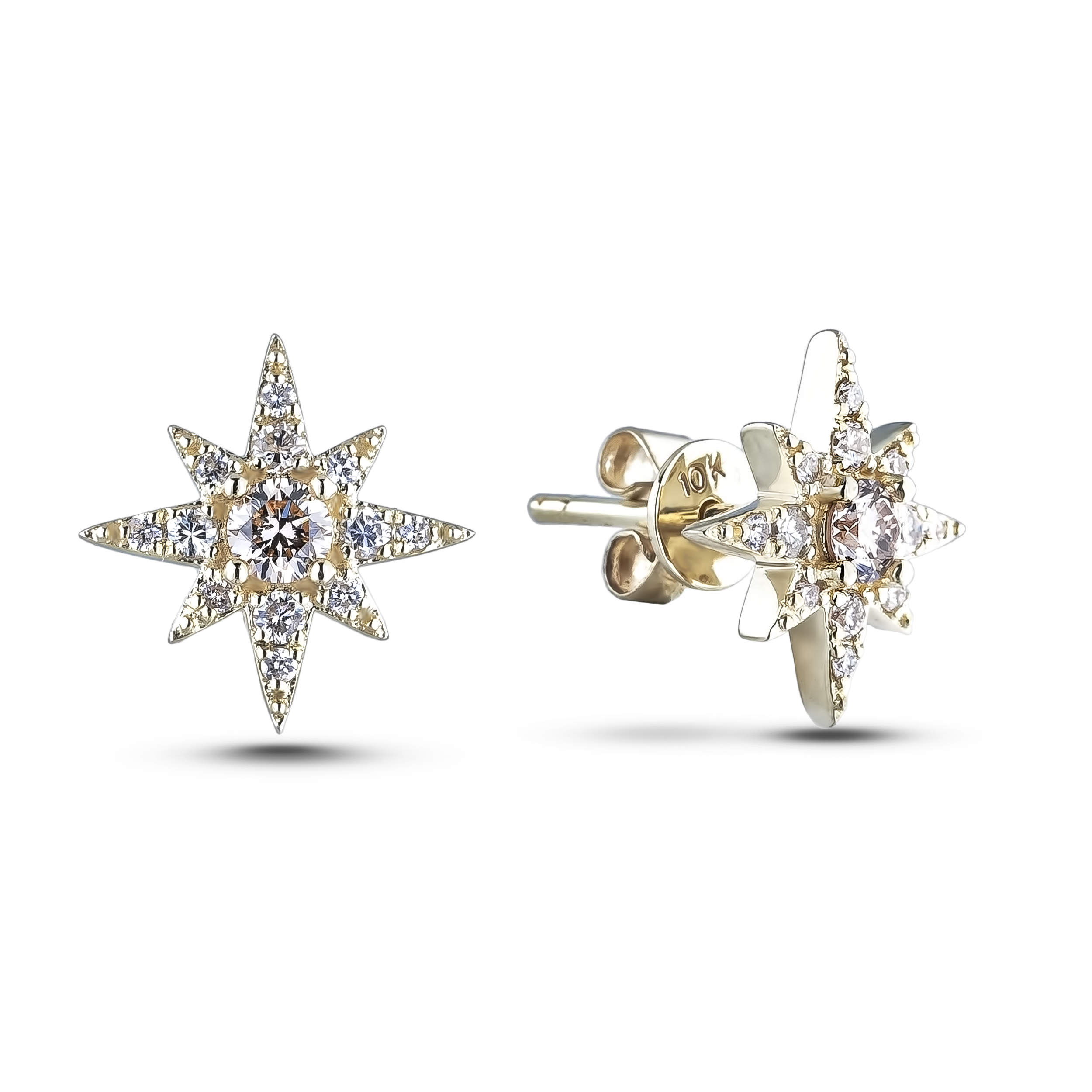 Diamond Stud Earrings LNG-E4603 (Earrings)