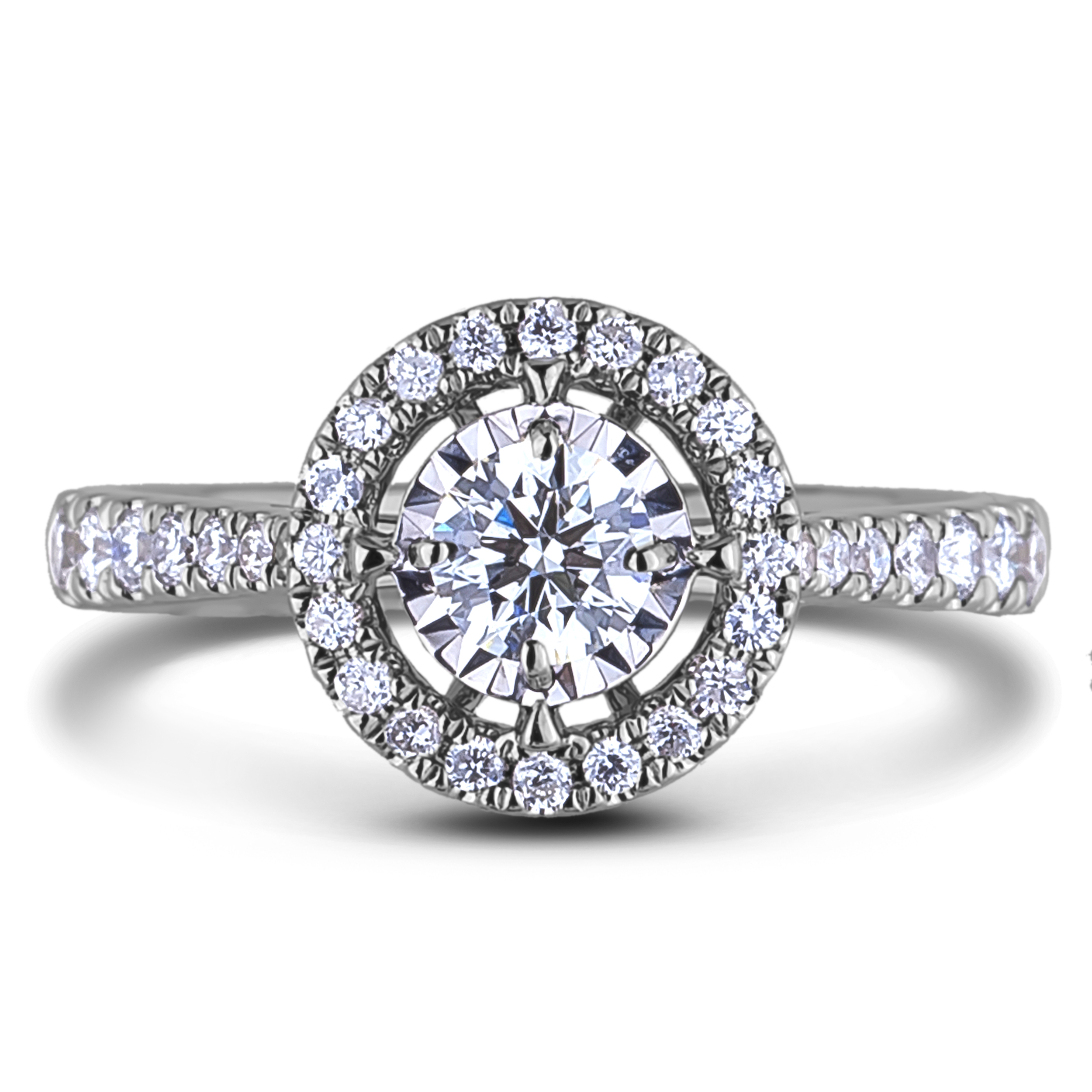 Diamond J's Maltese Diamond Engagement Hal...
