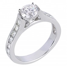 Diamond Engagement Rings SGR585 (Rings)