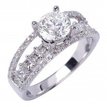 Diamond Engagement Rings SGR895 (Rings)