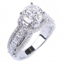 Diamond Engagement Rings SGR896 (Rings)