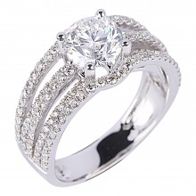 Diamond Engagement Rings SGR898 (Rings)