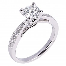 Diamond Engagement Rings SGR918 (Rings)