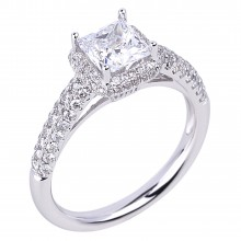 Diamond Engagement Halo Rings SGR920 (Rings)