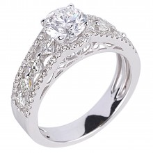 Diamond Engagement Rings SGR938 (Rings)