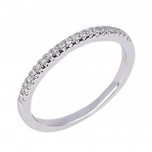 Diamond Wedding Bands SGR715W (Rings)