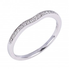 Diamond Wedding Bands SGR722W (Rings)