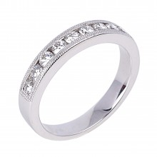 Diamond Wedding Bands SGR732W (Rings)