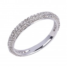 Diamond Wedding Bands SGR747W (Rings)