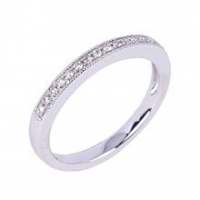 Diamond Wedding Bands SGR907PW (Rings)