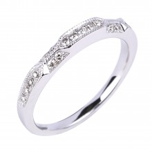 Diamond Wedding Bands SGR914W (Rings)