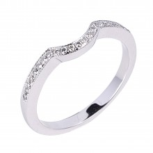 Diamond Wedding Bands SGR921W (Rings)