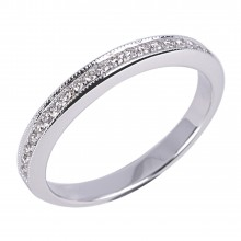 Diamond Wedding Bands SGR924W (Rings)