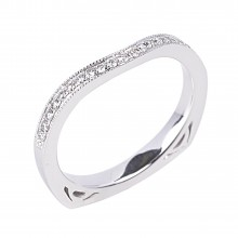 Diamond Wedding Bands SGR958W (Rings)