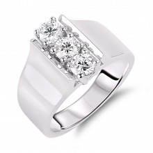 Diamond Three Stone Rings SGR620 (Rings)