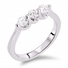 Diamond Three Stone Rings SGR322 (Rings)