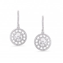 Diamond Dangle Earrings SGE209 (Earrings)