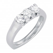 Diamond Three Stone Rings SGR330 (Rings)