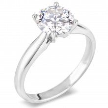Diamond Solitaire Rings SGR517 (Rings)