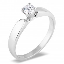 Diamond Solitaire Rings SGR496 (Rings)