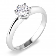 Diamond Solitaire Rings SGR739 (Rings)