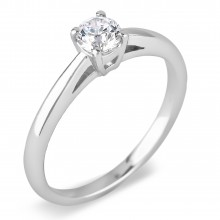 Diamond Solitaire Rings SGR741 (Rings)