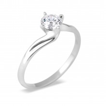 Diamond Solitaire Rings SGR497 (Rings)