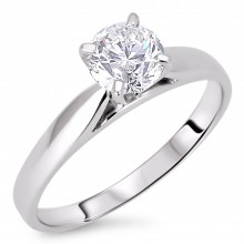 Diamond Solitaire Rings SGR520 (Rings)