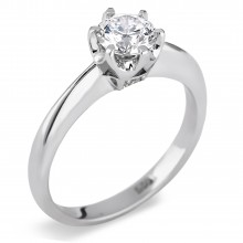 Diamond Solitaire Rings SGR782 (Rings)