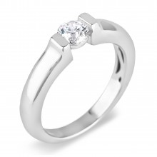 Diamond Solitaire Rings SGR757 (Rings)