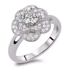Diamond Engagement Rings SGR855 (Rings)