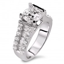 Diamond Engagement Rings SGR882 (Rings)