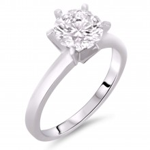 Diamond Solitaire Rings SGR510 (Rings)